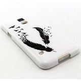 Samsung Galaxy S5 Black Feather case - CELLRIZON