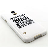 Samsung Galaxy S5 Bitch letter case - CELLRIZON