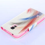 Feather wallet standard case for Samsung Galaxy S5/S5 mini - CELLRIZON