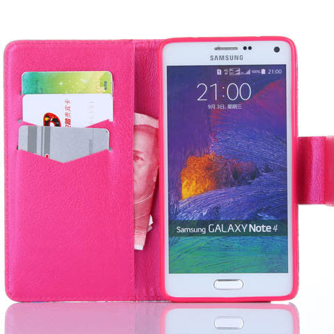 Water-wave wallet standard case for Samsung Galaxy note4 - CELLRIZON