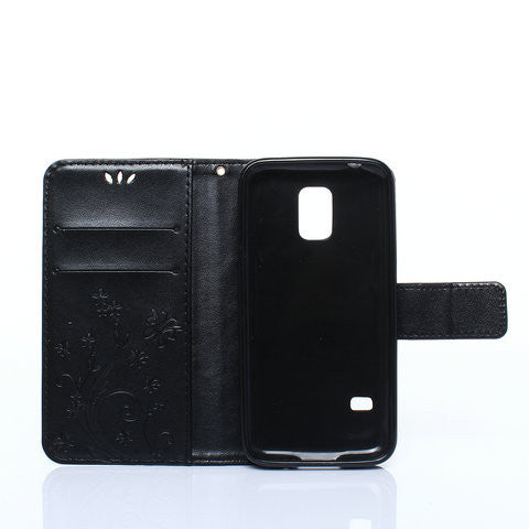Two Cards Slot Case For Samsung Galaxy S5 mini - CELLRIZON
