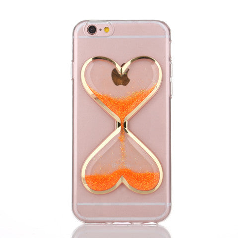 Luminous hourglass love Case For Iphone 5 - CELLRIZON