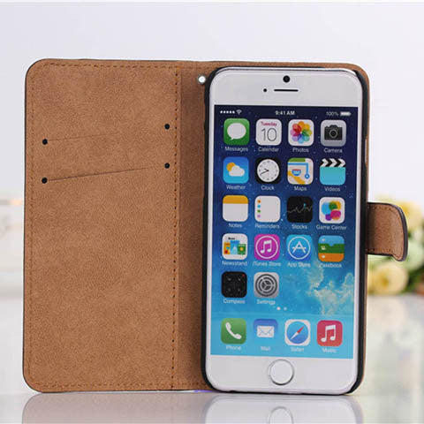 Wallet Case for Iphone 5 - CELLRIZON
