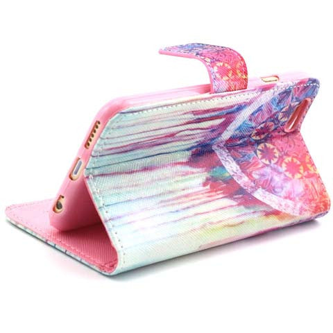 Watercolor Wallet Standard Case for iPhone 6 - CELLRIZON