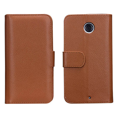7 Cards Slot Wallet Case for Google Nexus 6 - CELLRIZON