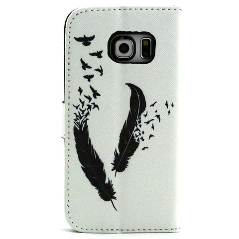 The feathers fly wallet standard case for Samsung Galaxy s6 edge - CELLRIZON