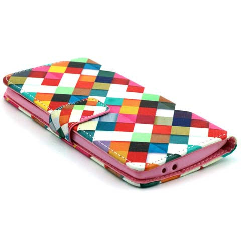 Checkered Wallet Standard Case for LG G4 - CELLRIZON