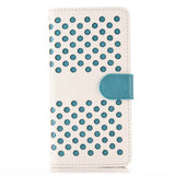 Empty thread Polka Dot TPU Wallet Case for iPhone 5s - CELLRIZON