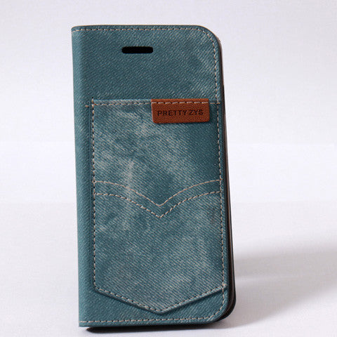 Denim Cloth Case For Iphone 6 4.7inch/iphone 6 plus 5.5 inch - CELLRIZON