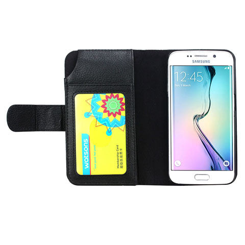 7 Cards Slot Wallet Case for Samsung Galaxy S6 Edge/S6 - CELLRIZON  - 4