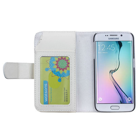 7 Cards Slot Wallet Case for Samsung Galaxy S6 Edge/S6 - CELLRIZON  - 8