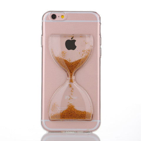 Shell Particles Hourglass Case For Iphone 5s/5SE/6s/6s plus - CELLRIZON