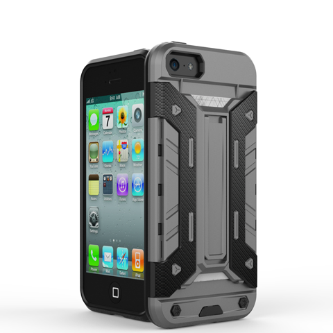 Mech Warrior Back Cover Case For iPhone 5S/SE - CELLRIZON  - 7