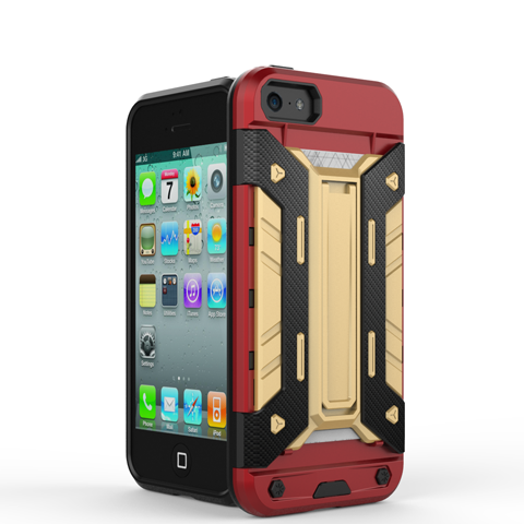 Mech Warrior Back Cover Case For iPhone 5S/SE - CELLRIZON  - 8
