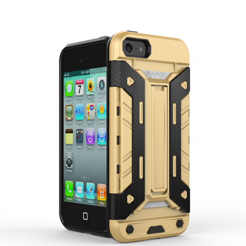Mech Warrior Back Cover Case For iPhone 5S/SE - CELLRIZON  - 5