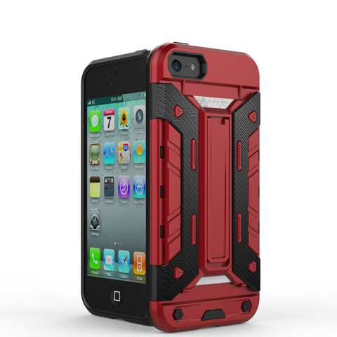 Mech Warrior Back Cover Case For iPhone 5S/SE - CELLRIZON  - 2