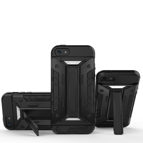 Mech Warrior Back Cover Case For iPhone 5S/SE - CELLRIZON  - 13