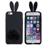 Bunny Silicone Protective Case for iPhone 5/5S Back Cover - CELLRIZON