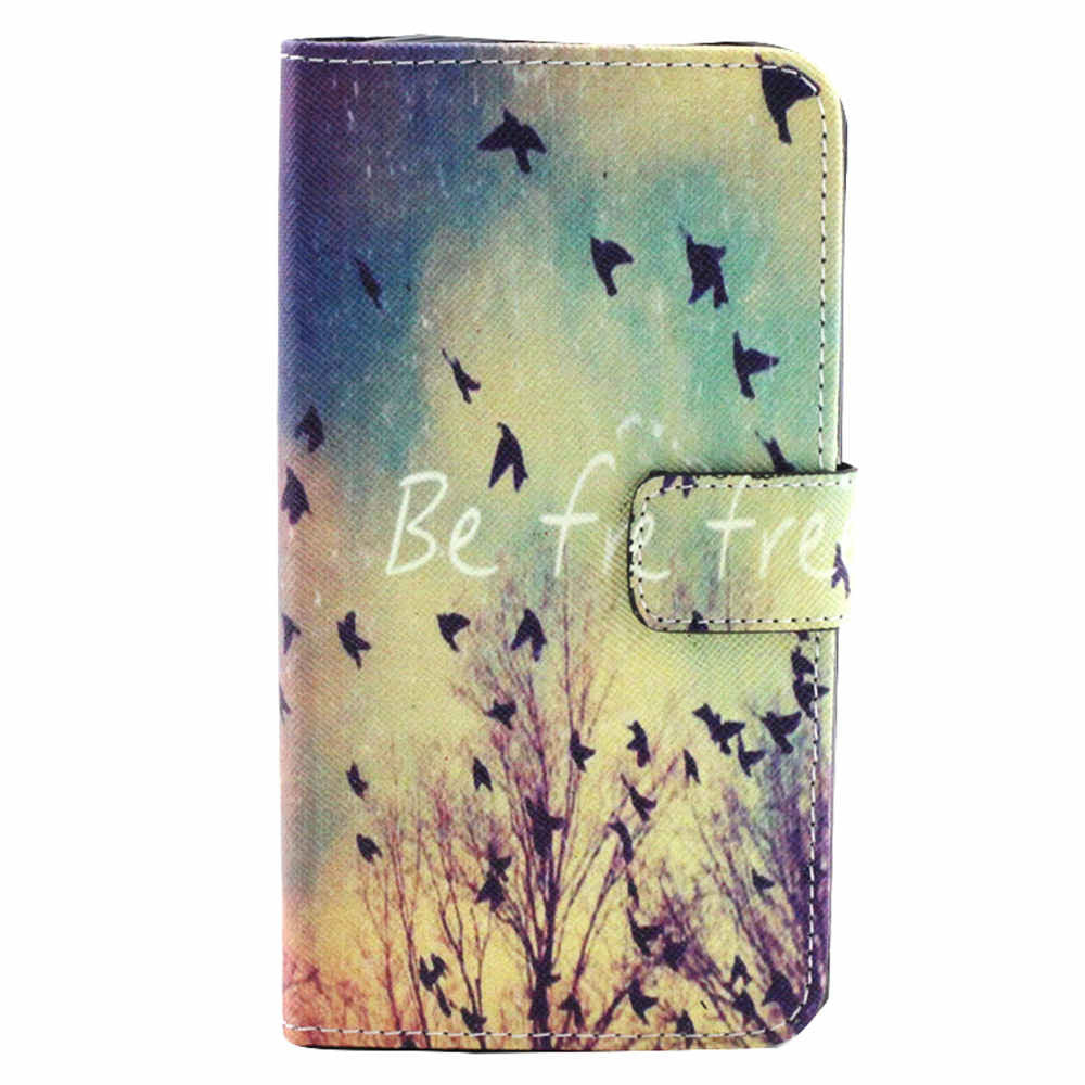 Wallet Leather Birds Case for LG G3 - CELLRIZON