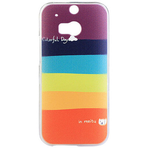 Stripe Hard Case for HTC One M8 - CELLRIZON