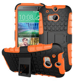 Armor Soft TPU Case For HTC One M8 - CELLRIZON