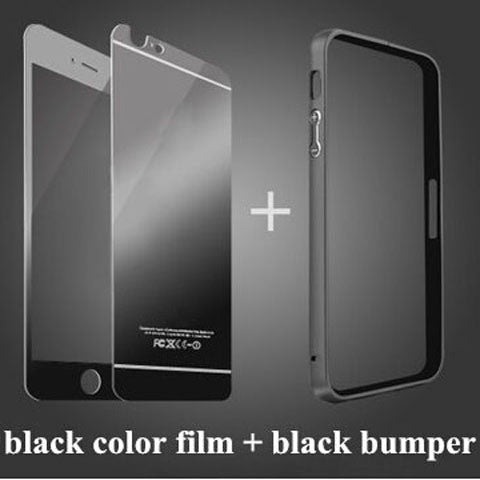 Clearance Tempered Glass Mirror Case with Aluminum Frame For Iphone ...