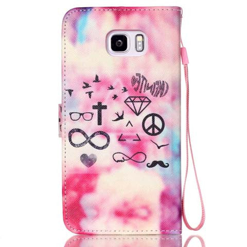 Cartoon Painting Stand Phone Case for Samsung Galaxy Note 5 - CELLRIZON