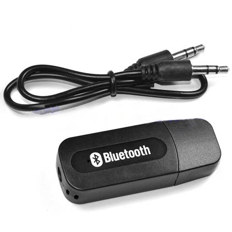 Bluetooth Audio Music Receiver Wireless Adapter 3.5mm USB - CELLRIZON  - 2