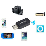 Bluetooth Audio Music Receiver Wireless Adapter 3.5mm USB - CELLRIZON  - 5