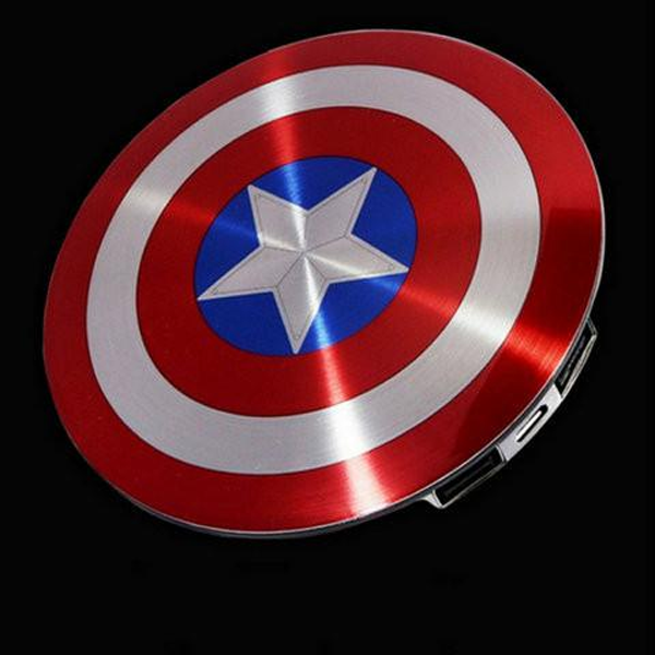 Power Bank 6800mAh Captain America's Shield