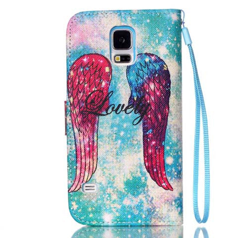 Wing Stand Case For Samsung Galaxy S5 - CELLRIZON