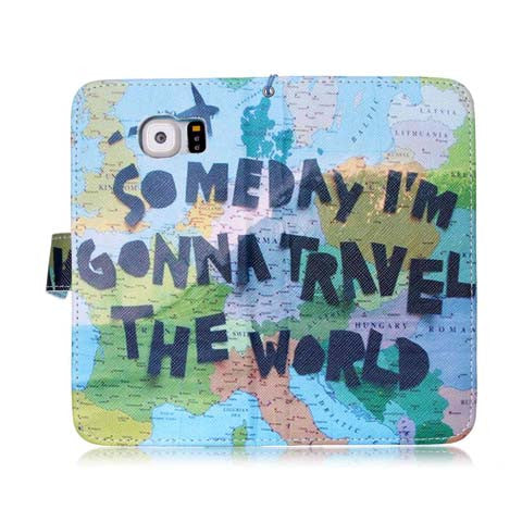 Travel The World Case For Samsung Galaxy S6/S6 Edge/S6 Edge plus - CELLRIZON  - 4