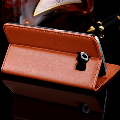 PU Wallet Leather Case for Samsung S6 - CELLRIZON
