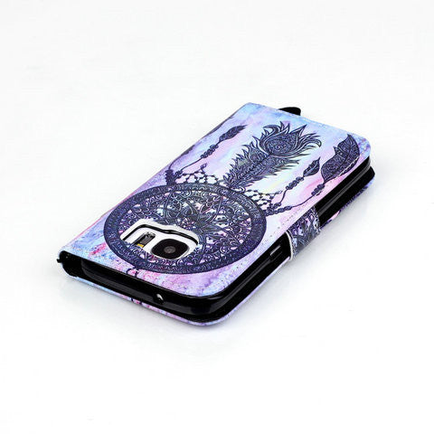 Ancient Restoring 2 Card Slot Case For Samsung Galaxy S7/S7 Edge - CELLRIZON