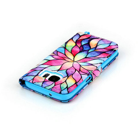 Color Petal 2 Card Slot Case For Samsung Galaxy S7/S7 edge - CELLRIZON