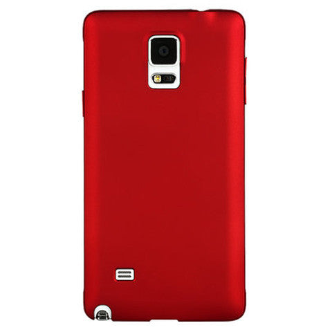 Plastic Hard Frosted Case for Samsung Note 4 - CELLRIZON