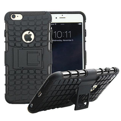 Anti-Shock Armor Back Cover Case for iPhone 6/6S 4.7'' - CELLRIZON