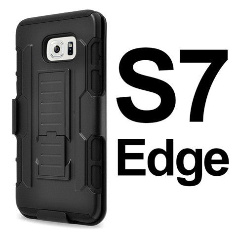 Shockproof Armor Back Cover Case For Samsung S7 | S7 Edge - CELLRIZON