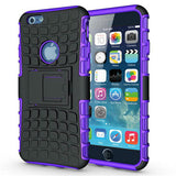Anti-Shock Armor Hybrid Armor Stand Case for iPhone 6S Plus 5.5'' - CELLRIZON  - 2