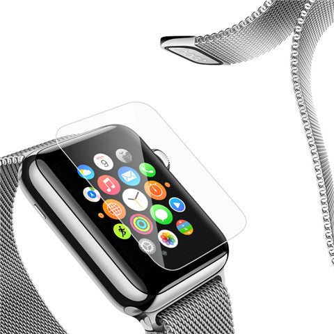 Anti Scratch Glass Screen Protector for Apple Watch - CELLRIZON