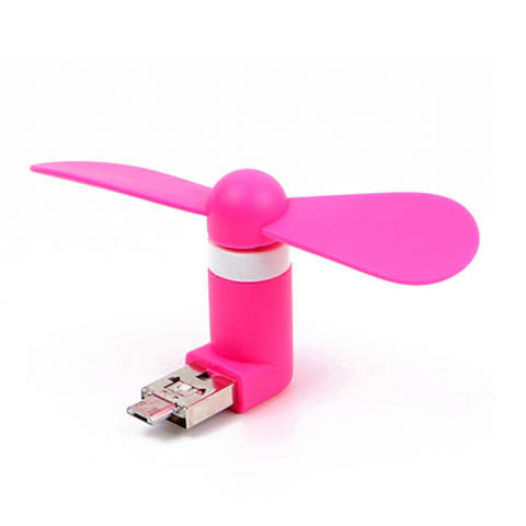 Andriod Mobile Phone USB Mobile Power Energy-saving Mute Cool Small Fan - CELLRIZON