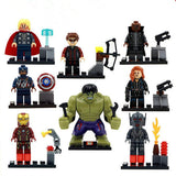 ASSORTED ANIMATED CHARACTER ASSEMBLED BUILDING BLOCKS TOYS SET