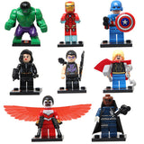 ASSORTED ANIMATED CHARACTER ASSEMBLED BUILDING BLOCKS TOYS SET - CELLRIZON
