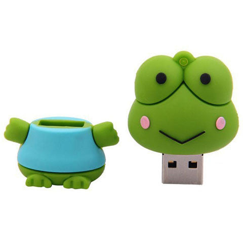 Frog Robot Figure USB Flash Drive 2/4/8/16/32/64gb - CELLRIZON