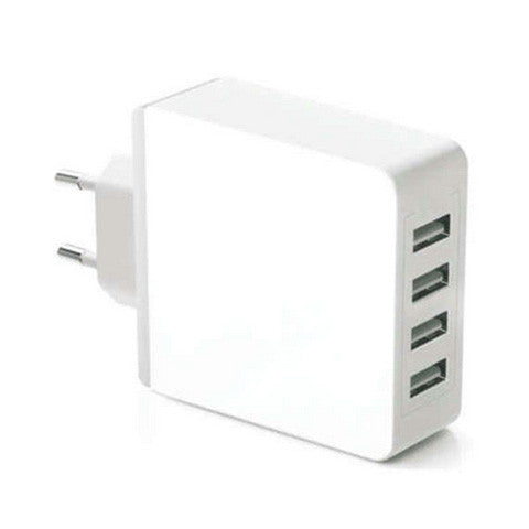 5.2A EU Plug 4-Port USB Charger - CELLRIZON