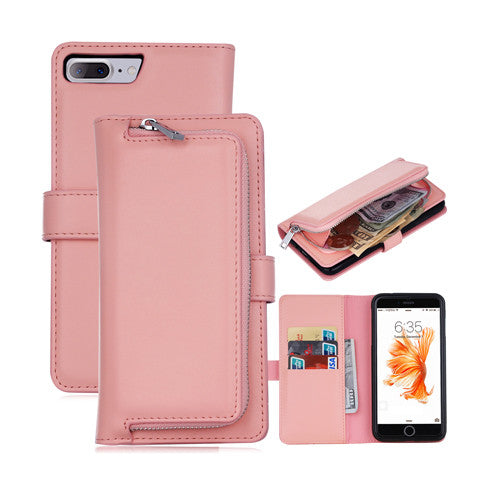 Plain Zipper Phone Case For IPhone 7 7 Plus - CELLRIZON  - 6