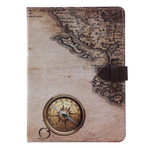 Compass Smart Stand PU synthetic Leather case For Ipad 5 - CELLRIZON