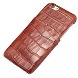 Slot Crocodile Leather  Case Cover For Iphone 6 4.7inch/6plus 5.5inch - CELLRIZON