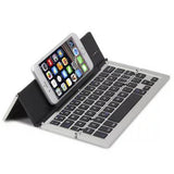 F18 Metal Folding Bluetooth Keyboard Moonlight - CELLRIZON