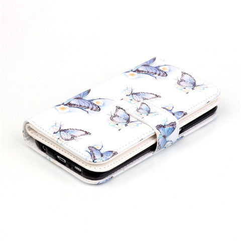 Butterfly Wallet Standard Case for  Samsung S7/S7 edge - CELLRIZON